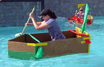 Build a Boat Team Building - Adventure Assoc